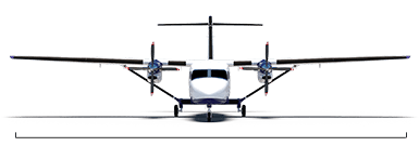 Cessna SkyCourier overall width