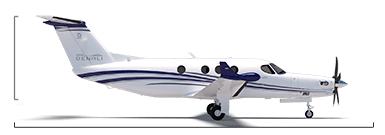 Cessna Denali overall height/length