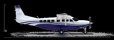 Cessna Grand Caravan EX overall height/length