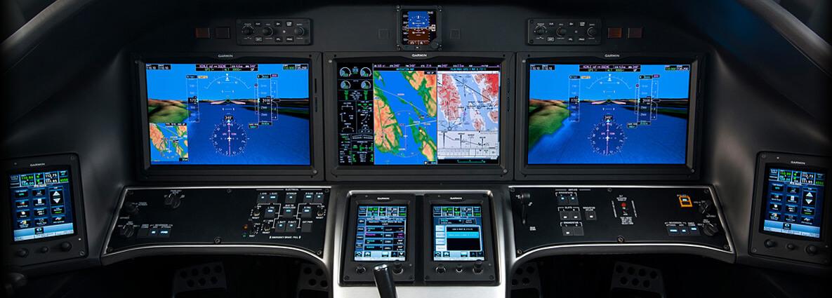 авионика Citation X+