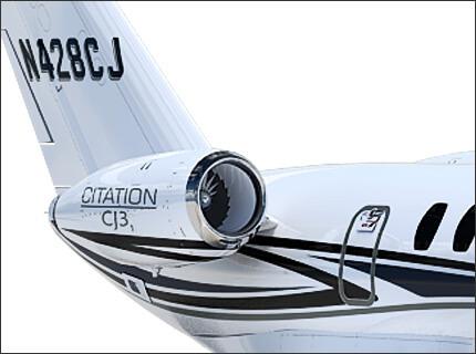 Citation CJ3+ Двигатели