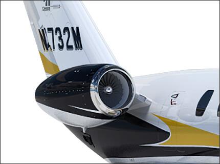 Citation M2 Двигатели