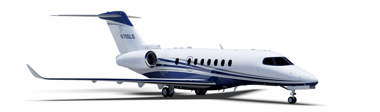 Citation Longitude exterior