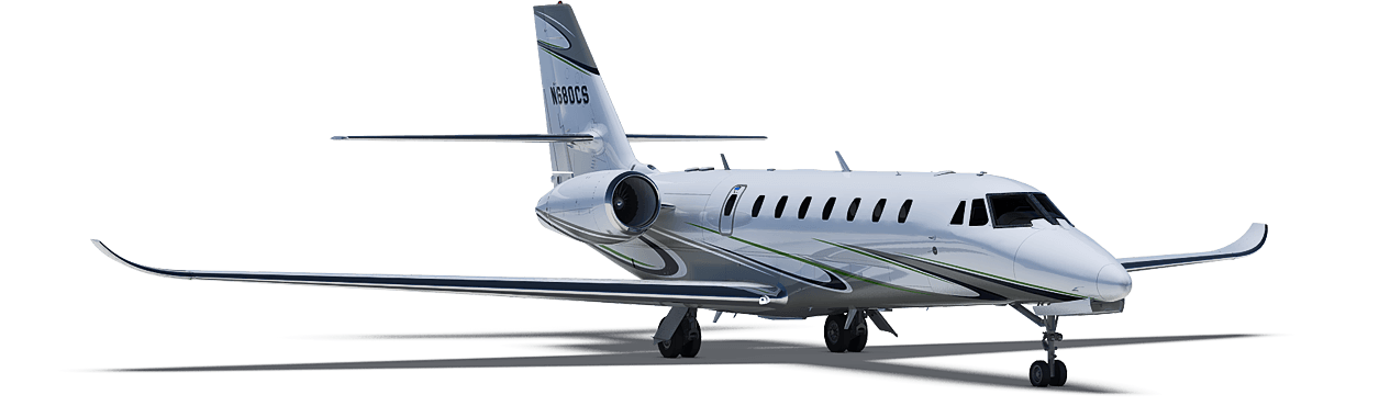 Citation Sovereign+ exterior