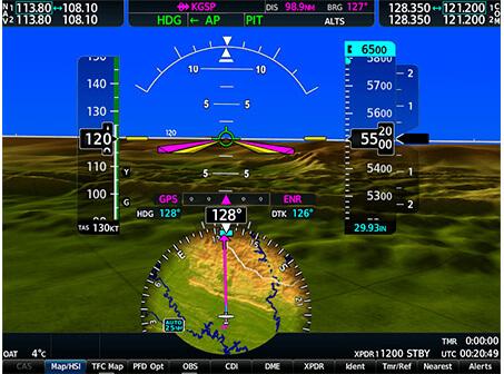 авионика Cessna Grand Caravan EX - Advanced Display Technology