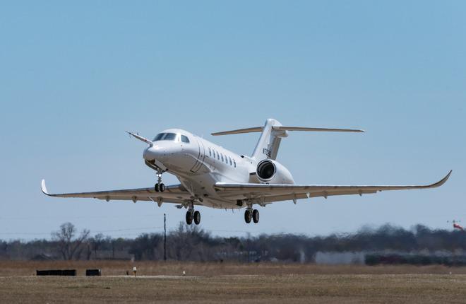 Бизнес-джет Cessna Citation Longitude пустили в серию