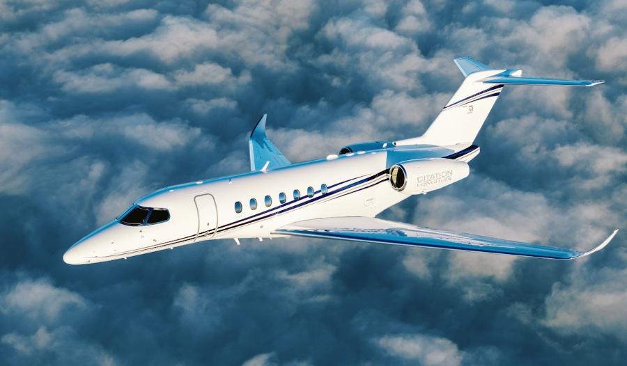 Самолет Citation Longitude прошел сертификацию типа