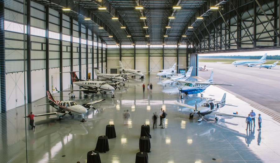50лет сервисному центру компании Textron Aviation