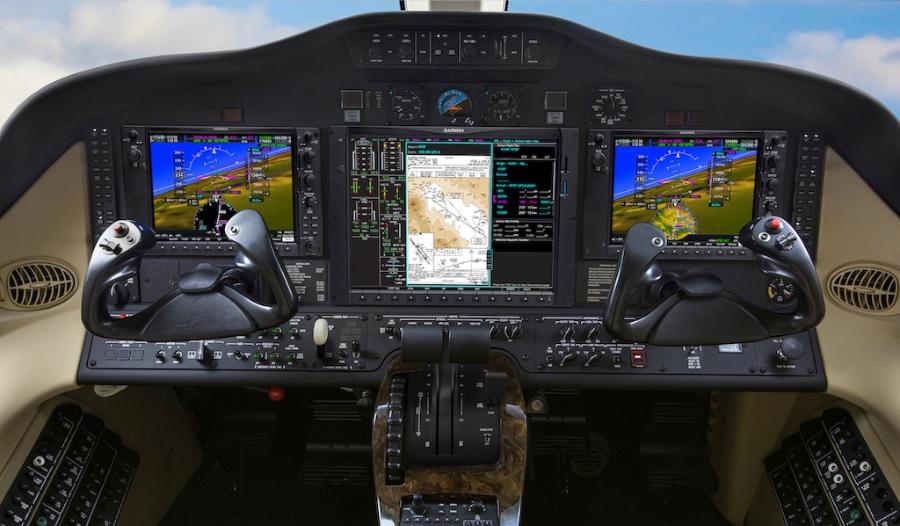 Сертифицированные интегрированные приборные панели G1000NXi для Citation Mustang